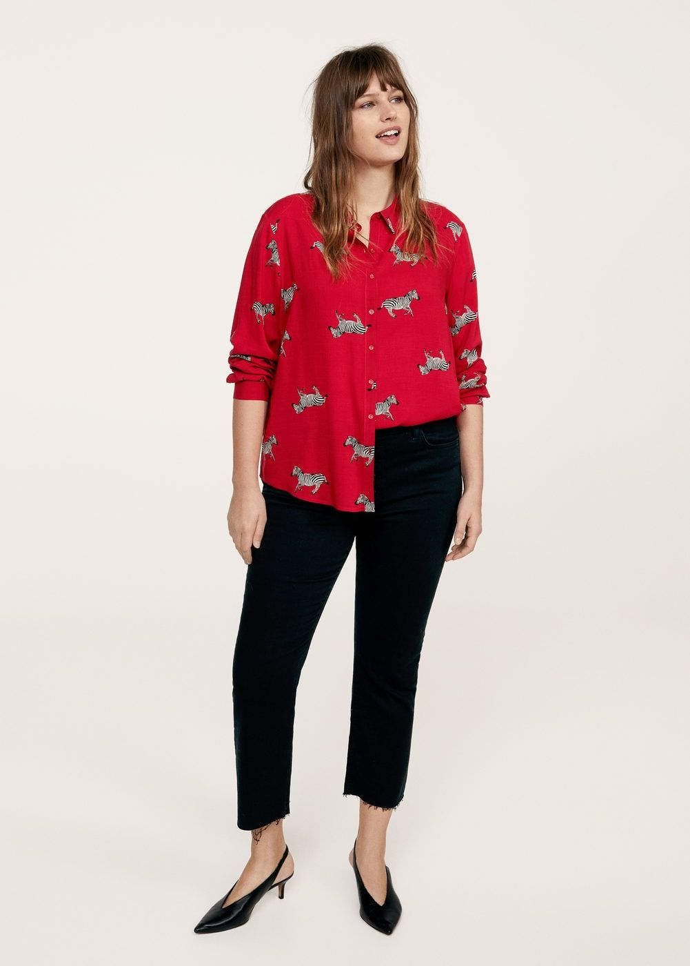 780dfbde2ff880 Animal print shirt - Plus sizes | Shopping List | Pinterest | Animal ...