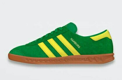 HAMBURGS IN GREEN/BRIGHT YELLOW - ONE OF TWO NEW HAMBURGS ARRIVING JULY 2015 - GET YOUR ORDER IN NOW