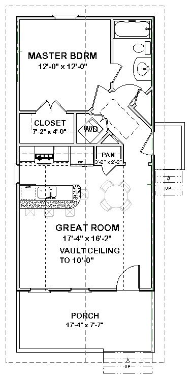 Mother In Law House Plans Complete House Plans 648 S F