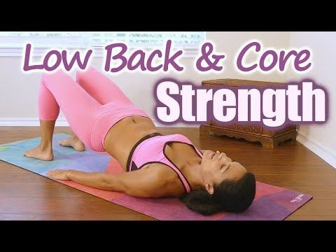 6 low back  core strength yoga with sanela belly fat