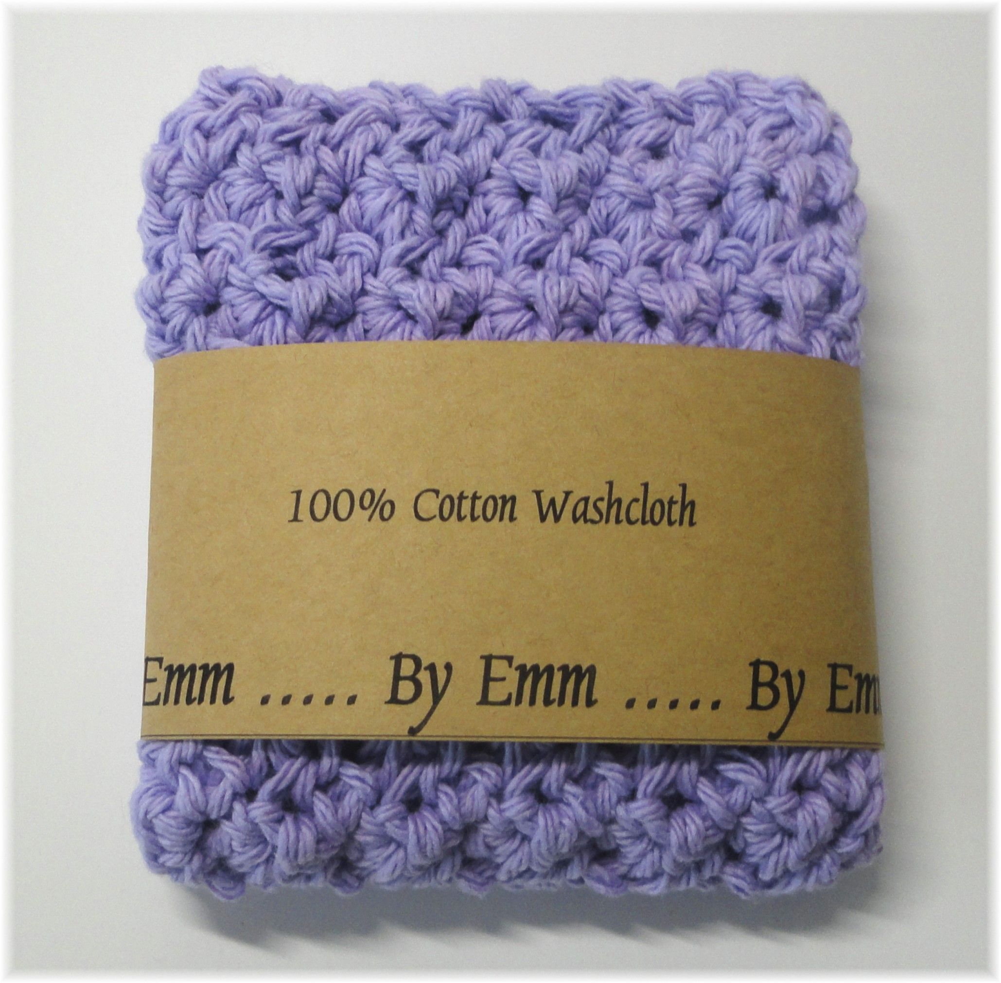 Shades Of Lilac 100 Natural Cotton Spa Style Washcloth Or Facecloth Cotton Washcloth Knitted Washcloths Crochet Faces
