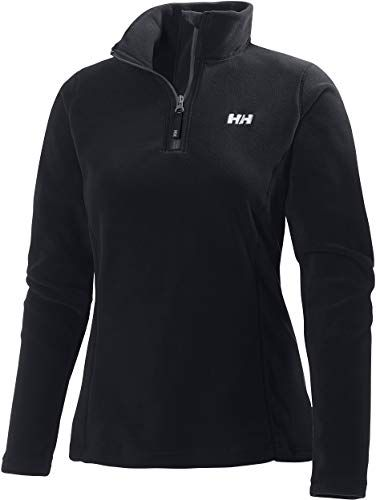 Photo of Bestseller Helly Hansen Daybreaker Damen 1/2 Zip Leichte Fleece-Pulloverjacke, 990 Schwarz, XXXX-Large online – Looknewclothing