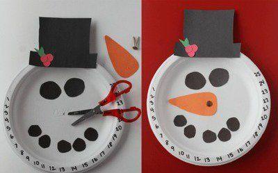 50 Amazing Snowman Craft Ideas Feltmagnet Christmas Decorations