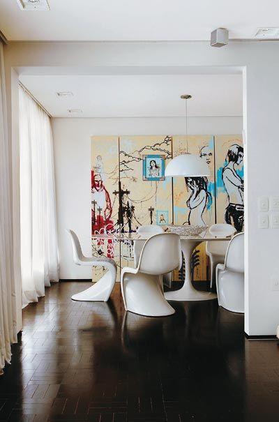 Chaise panton verner design mobilier deco contemporaine et contemporain for Deco mobilier design