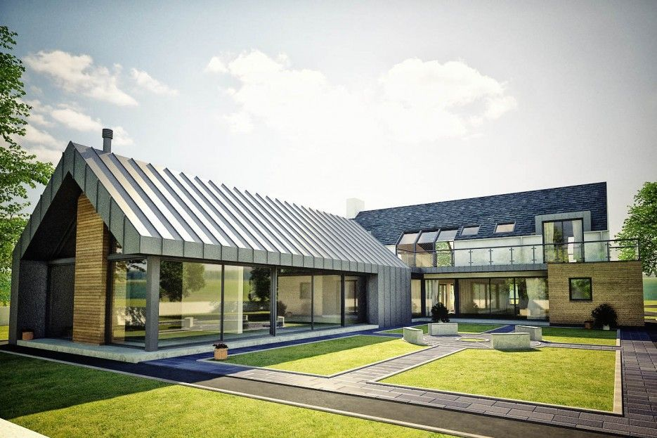 Contemporary Architects in Northern Ireland | Barn style ...