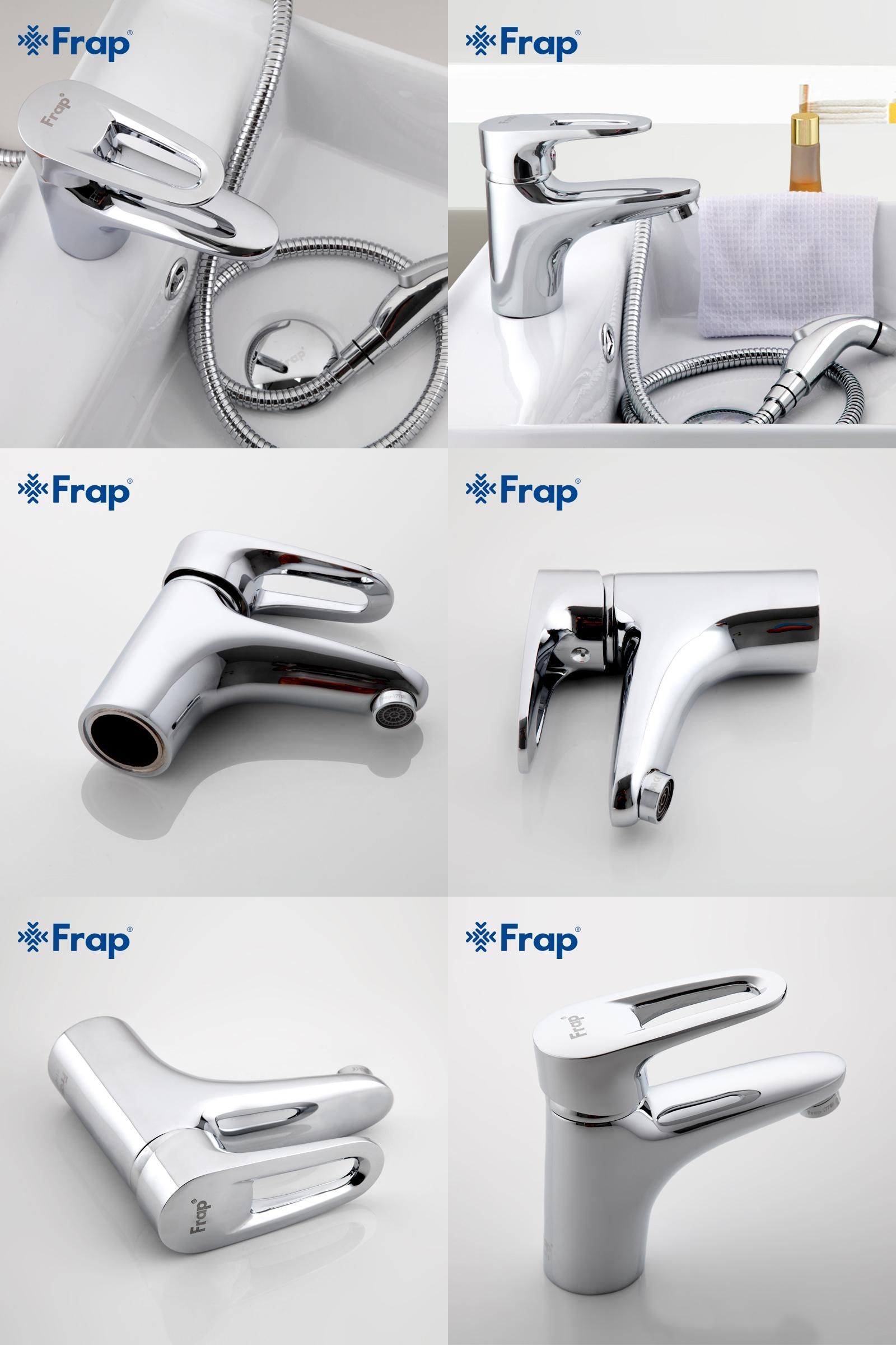 Visit to Buy] Frap Brass Body Material Bathroom Toilet taps With ...