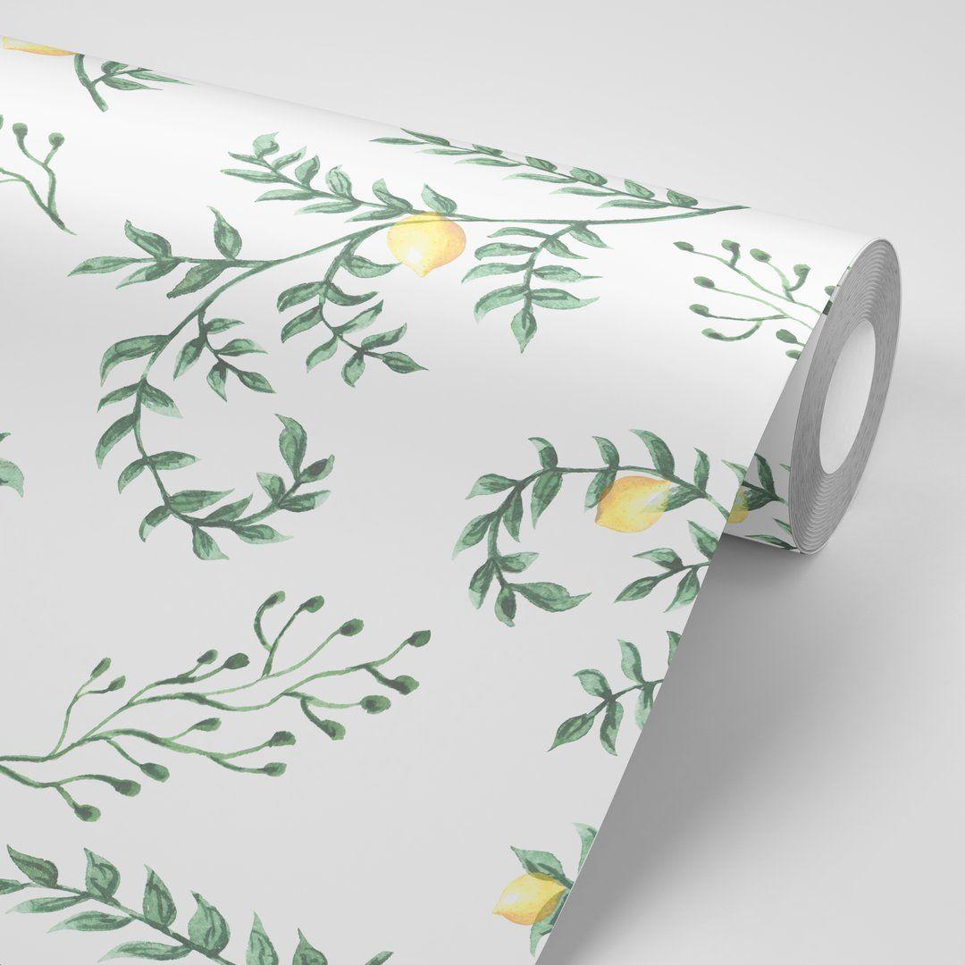 Lemon Verbena Peel, stick wallpaper, Verbena, Lemon