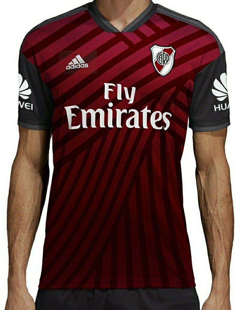 93c4f35c Riverplatenses 2018-19 tercer equipamiento Remeras De Futbol, Playeras De  Futbol, Uniformes De
