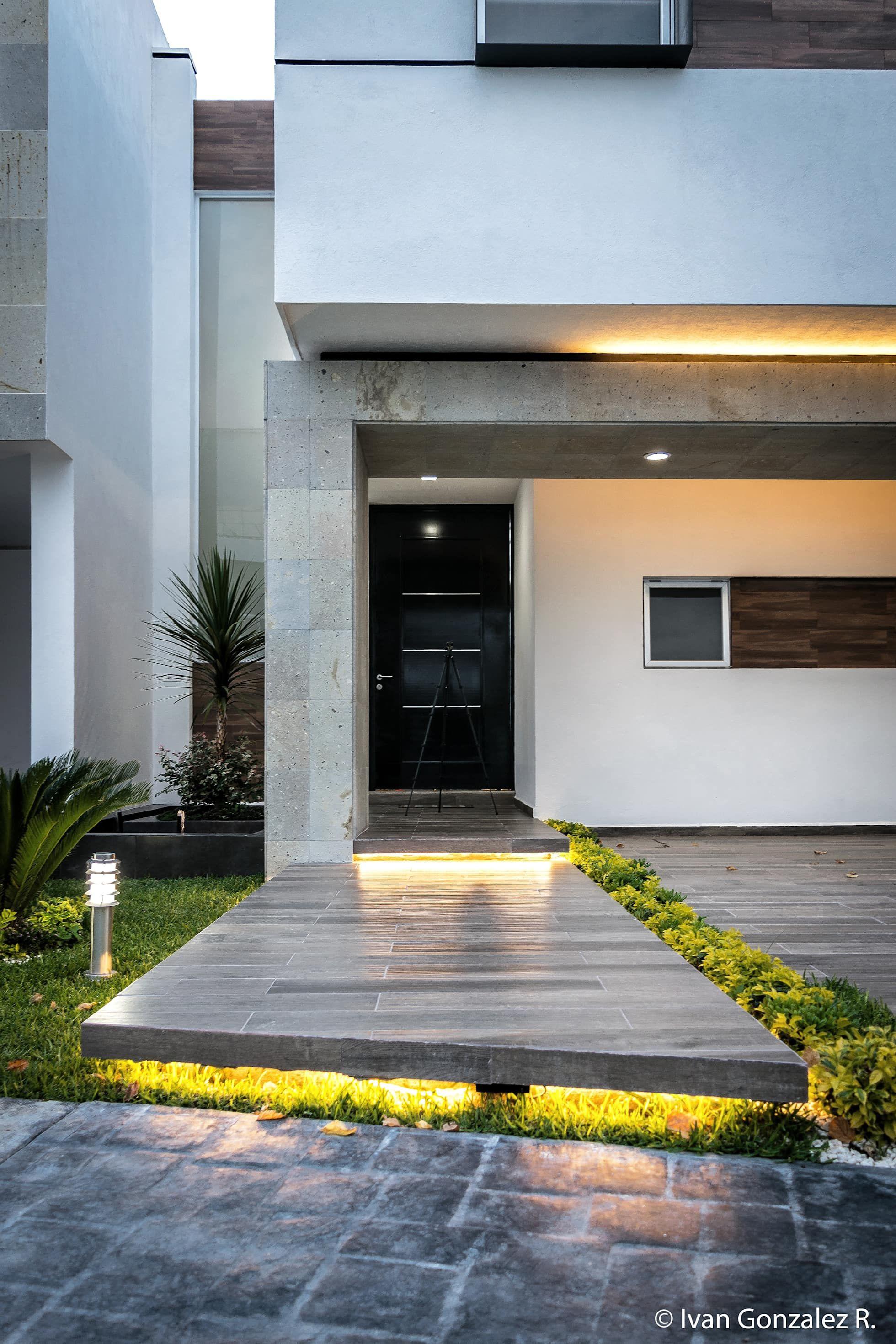 Casa Diana Casas De Estilo Minimalista Por Arqduo Fachadas Casas Minimalistas Entradas De Casas Pequenas Entrada De Casas Modernas