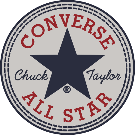 This site has the converse logo and you can replace any of the text in the  logo in the correct font. Maybe rep… | Converse all star, Chuck taylors,  Cajas para tazas