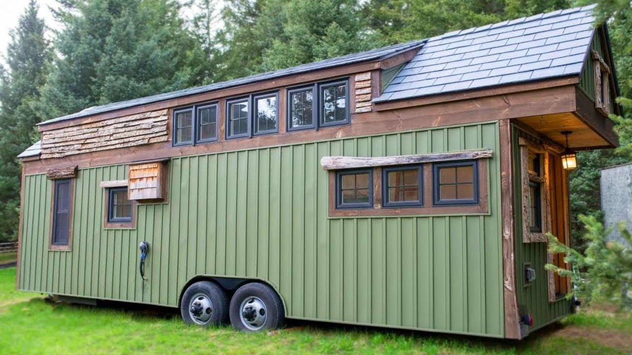 Amazing Big Tiny House W 3 Bedrooms Perfect For A Family Shed To