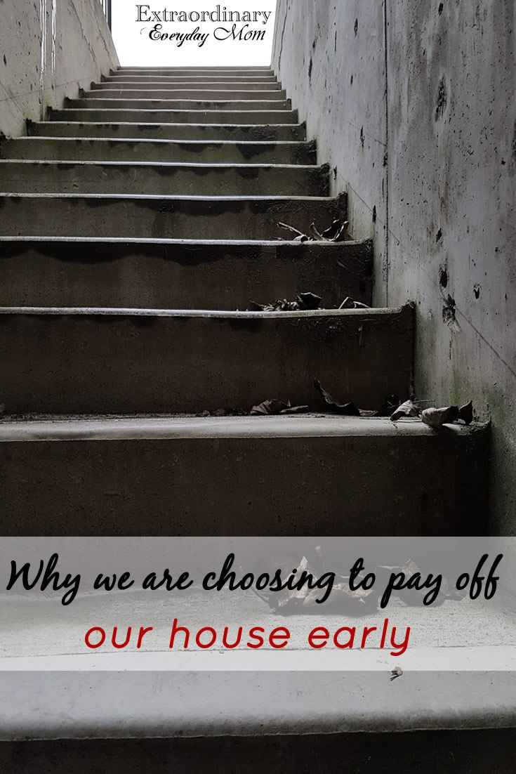 Have you ever considered the possibility of paying off your house early? In this post, I am sharing how our family is paying off our house early.
