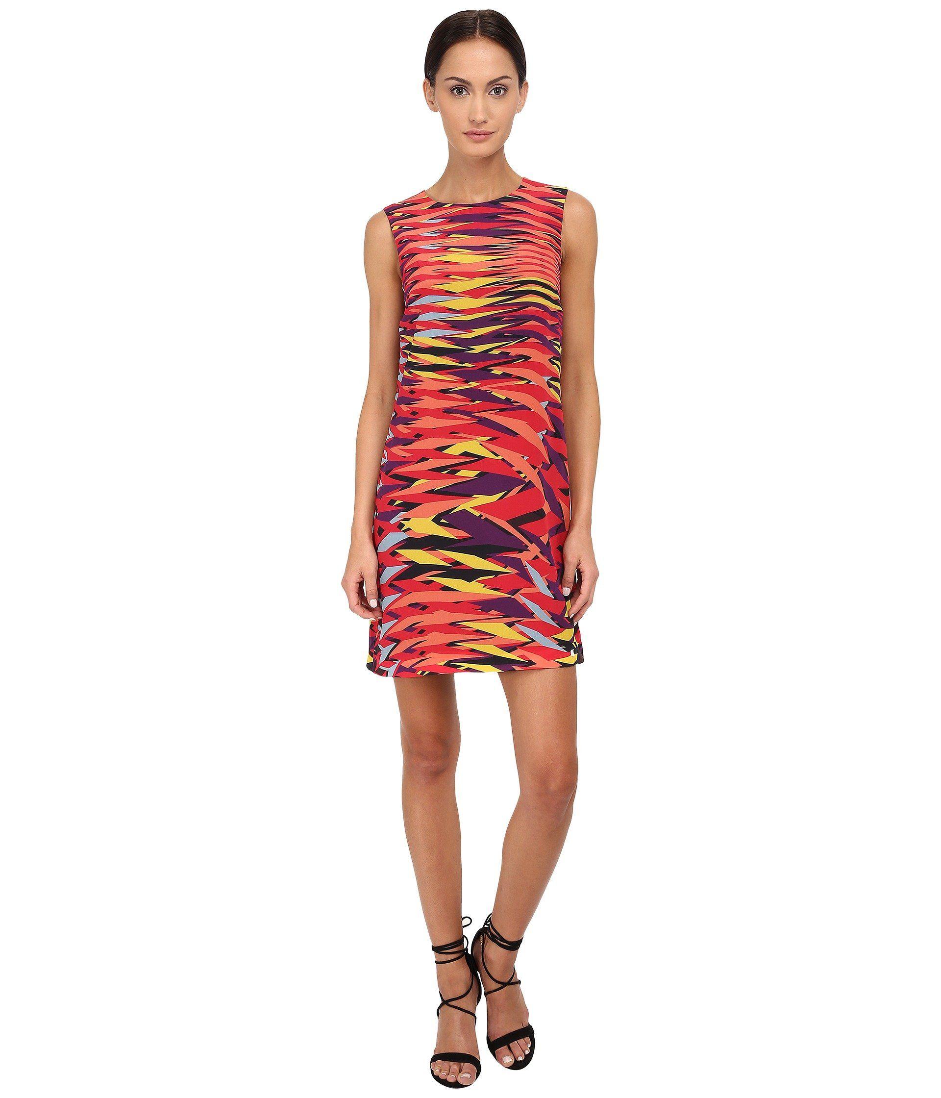 M Missoni Frequency Print Silk Dress Mmissoni Cloth