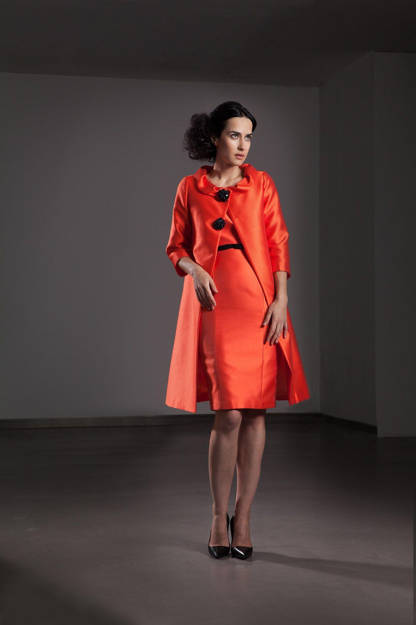 Colección primavera verano 2016 Modelo abrigo 16105.