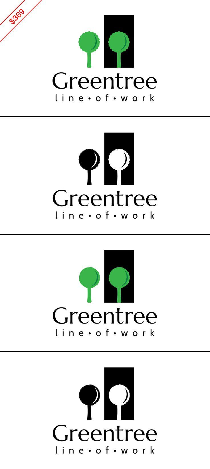 $369 Tree logo / photography logo / interior design logo / therapy ...