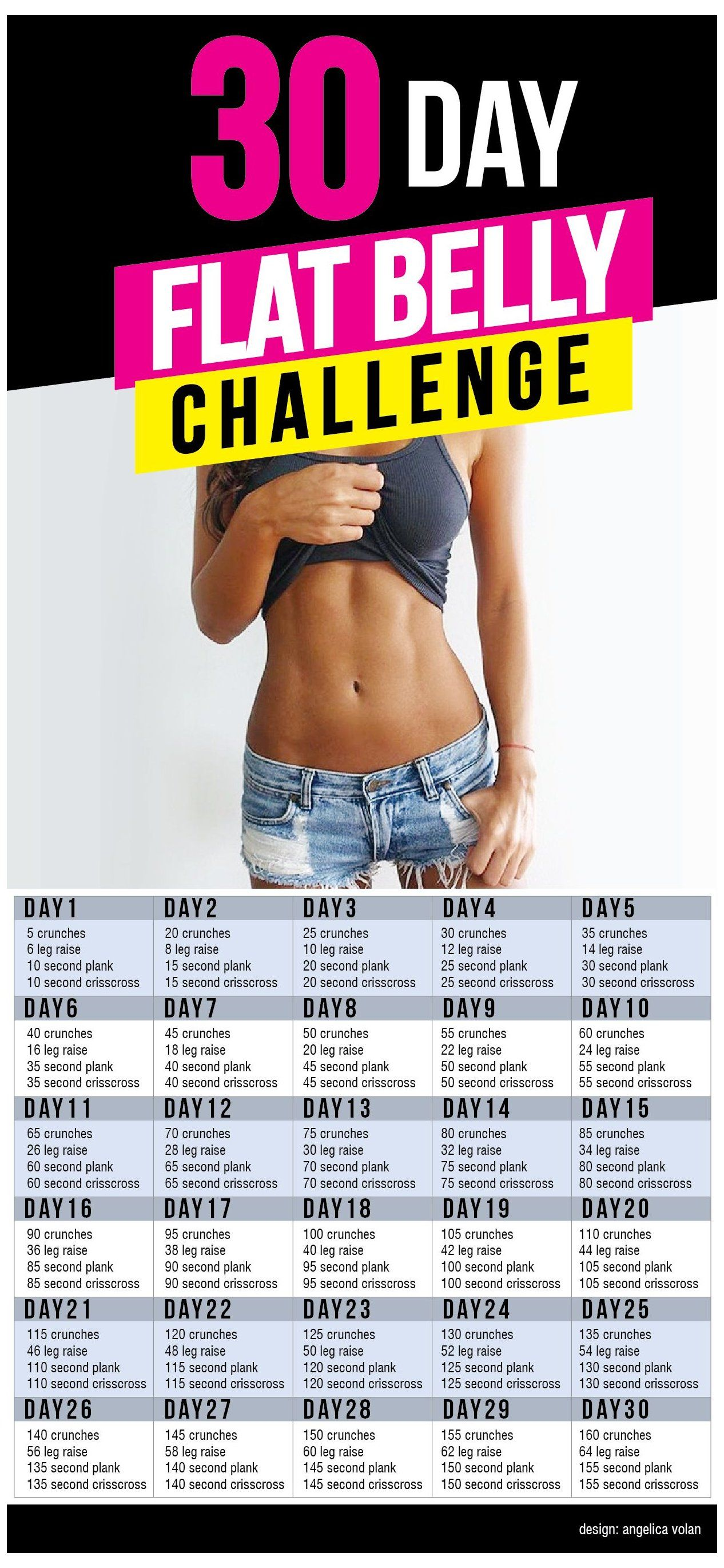 flat belly workout 30 day -   19 workouts for flat stomach for beginners ideas