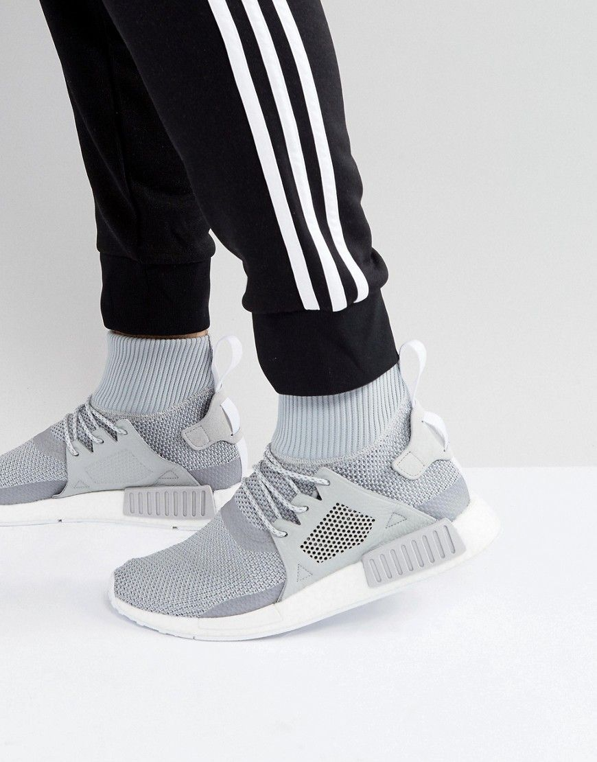 2b320634a ADIDAS ORIGINALS NMD XR1 WINTER SNEAKERS IN GRAY BZ0633 - GRAY.   adidasoriginals  shoes