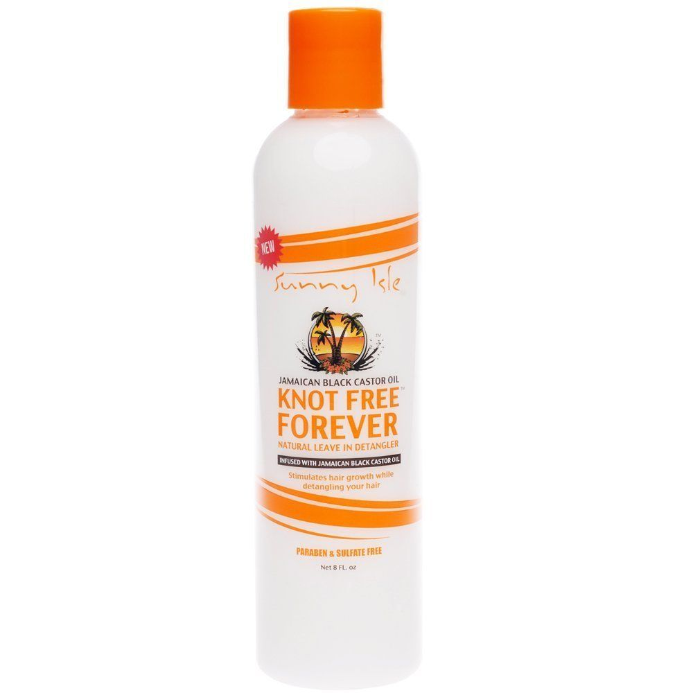 Sunny isle jamaican black castor oil knot free forever leave in