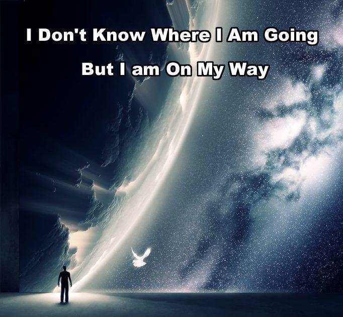 I'm on my way...