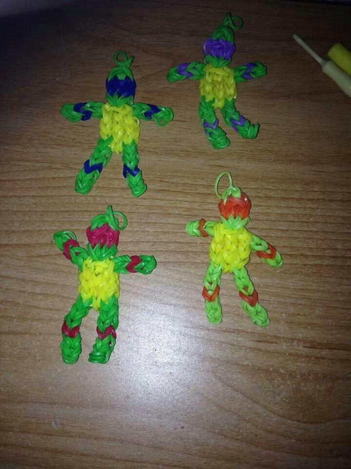 Ninja turtles rainbow looms