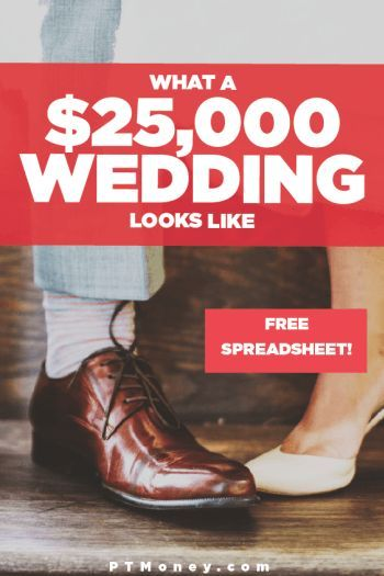 What a $25,000 Wedding Budget Looks Like Wedding budget templates - pl spreadsheet template