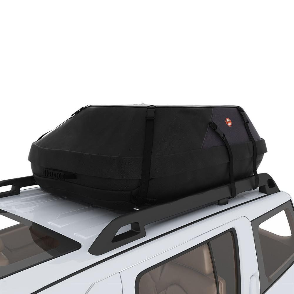 Car Top Carrier Goldenfox Waterproof Roof Travel Cargo Luggage Bag For Car Suv Vans Us Stock Water Resistance Luggage Carrier Car Roof Storage Waterproof Car