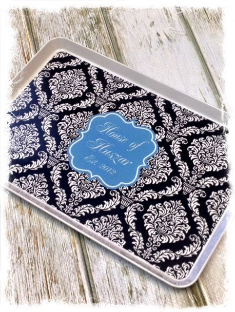 Customized / Monogrammed Serving Tray, Customized / Monogrammed MelamineTray on Etsy, $40.00, Wedding Gift, house warming gift. Over 40 designs to choose from! www.sassysoutherngals.etsy.com