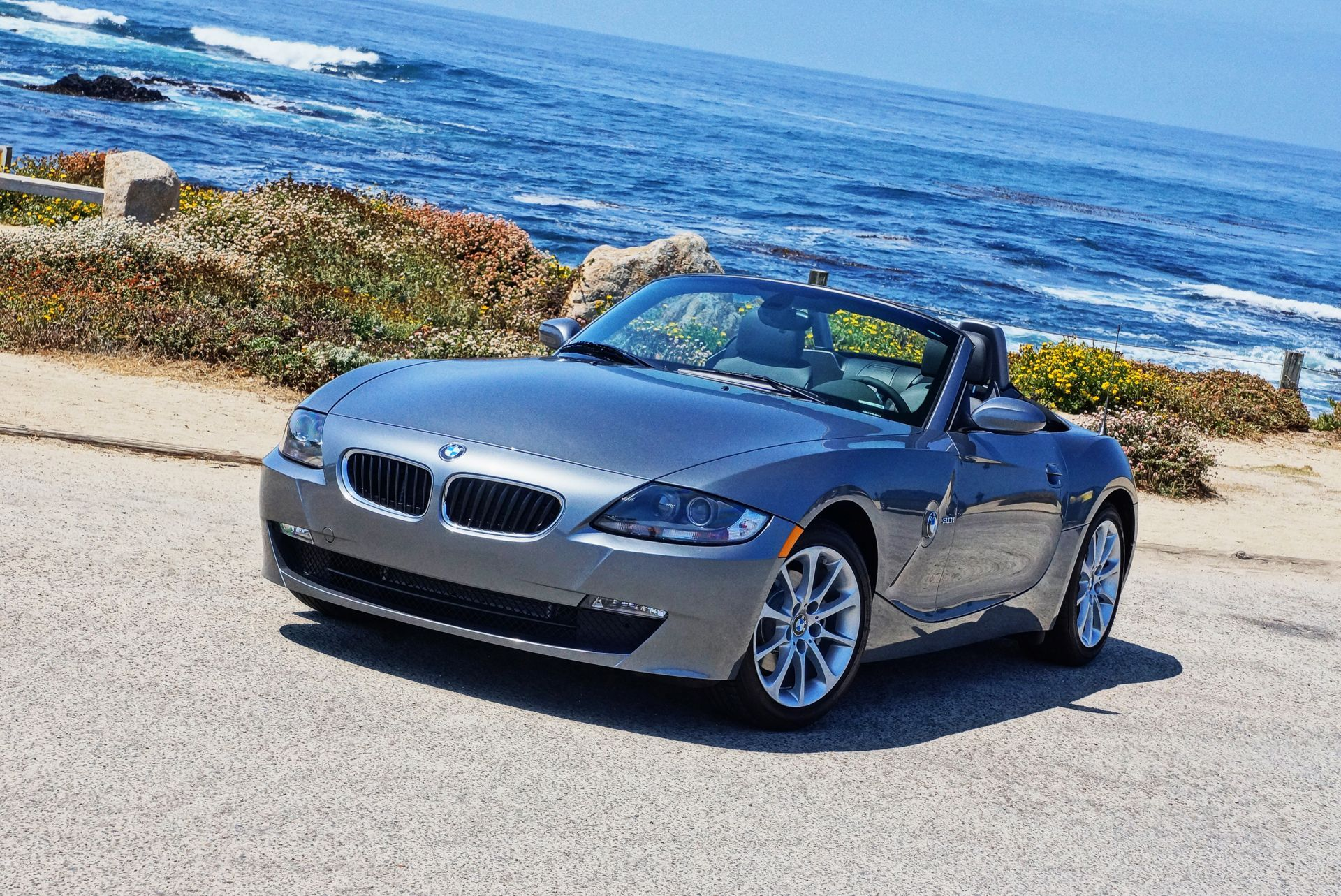 Our first impression of the new BMW Z4 Concept that made it's debut at Pebble Beach 2017.
