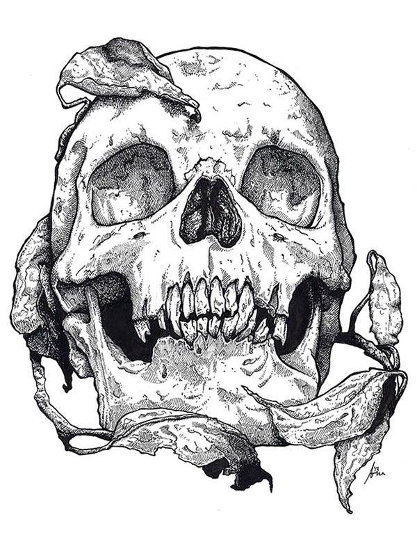 этот картинки наколки череп режиссера