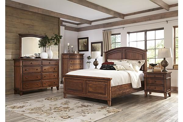 Best The Burkesville Panel Bedroom Set From Ashley Furniture Homestore Afhs Com The Warm Burnished 400 x 300