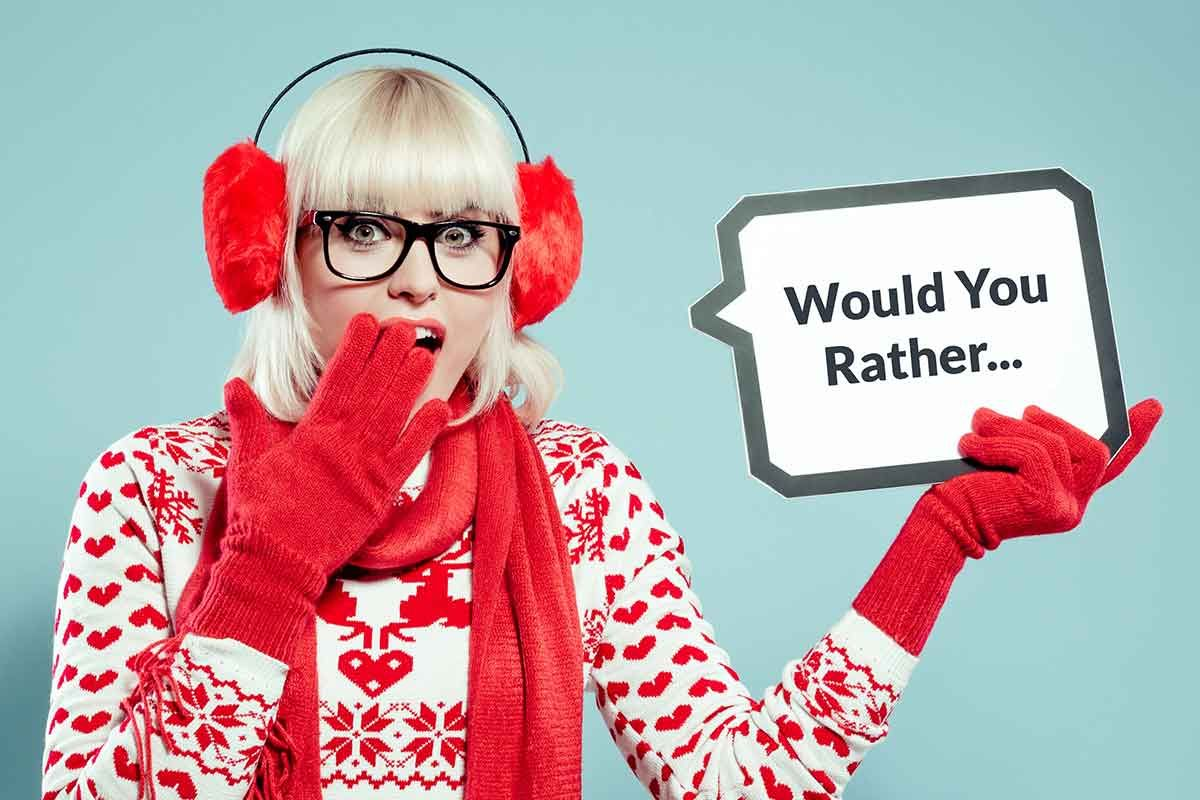 Christmas Party Icebreaker Questions.100 Would You Rather Icebreaker Questions For Any Holiday Or