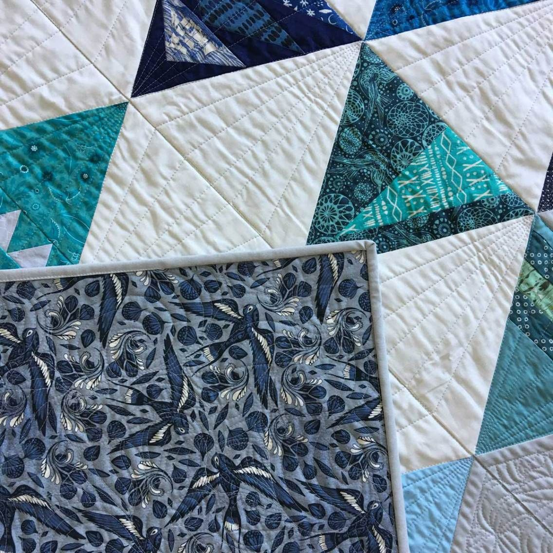 Well Wishes Charity Bee Quilt {Modern Triangles Blog Tour}