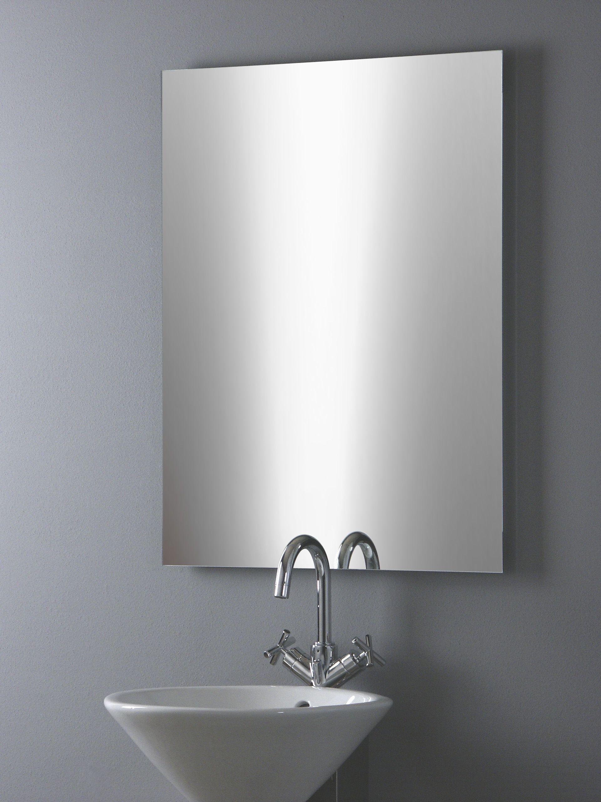 Badspiegel Basic Ohne Beleuchtung Badezimmerspiegel