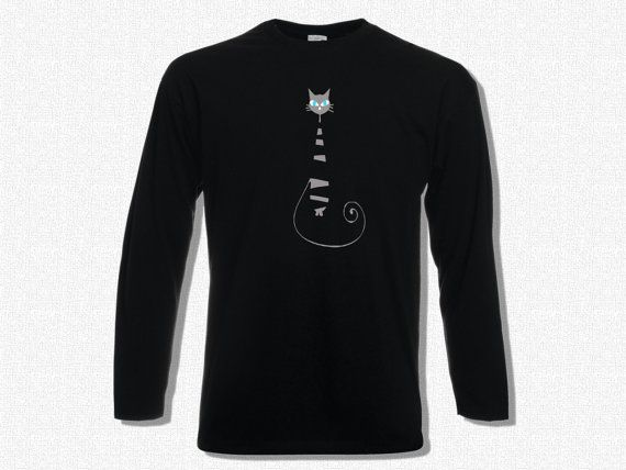 T-shirt Men Long Sleeve Aristocat  T-shirt Men Long by KLogShirts