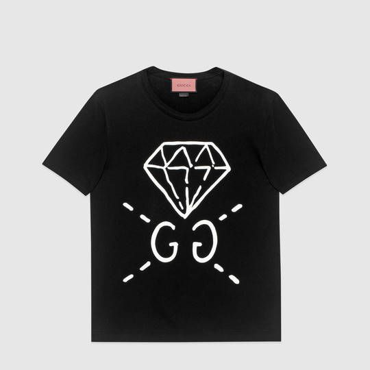 138a93fe0 Gucci GucciGhost t-shirt | solo's collection | Gucci outfits ...