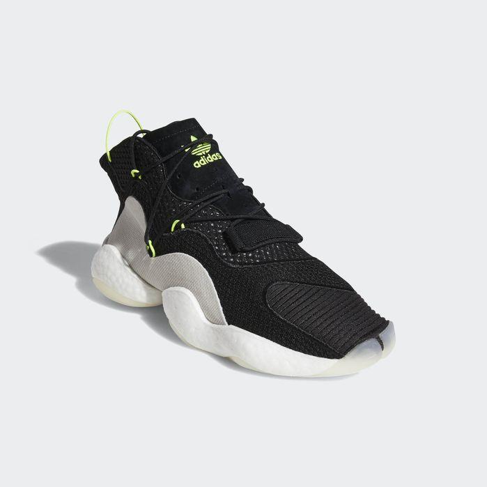 7b4962d239 Crazy BYW Shoes Black 4 Mens | Products | Black shoes, Black adidas ...