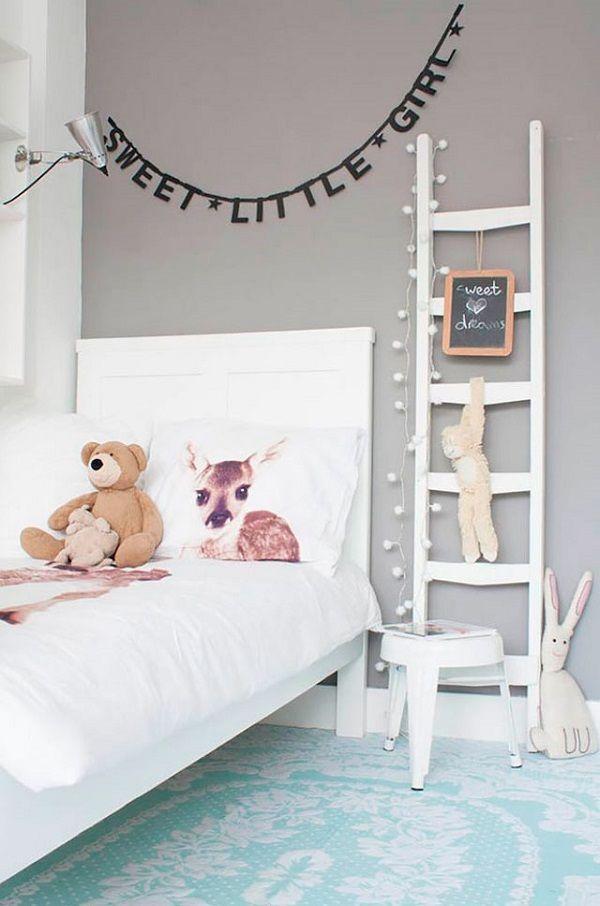 23 maneras de utilizar una escalera de madera para decorar ...
