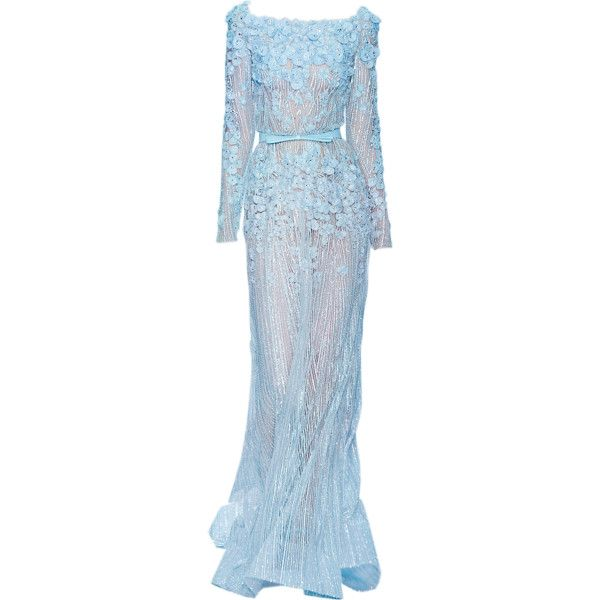 edited by Satinee - Elie Saab collection ❤ liked on Polyvore