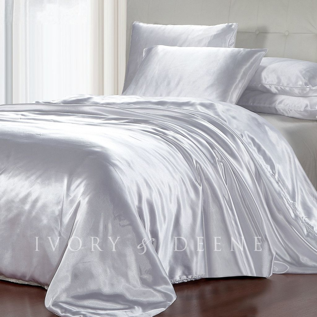 White Duvet Cover King White Satin Duvet Cover King Home Decorating Ideas