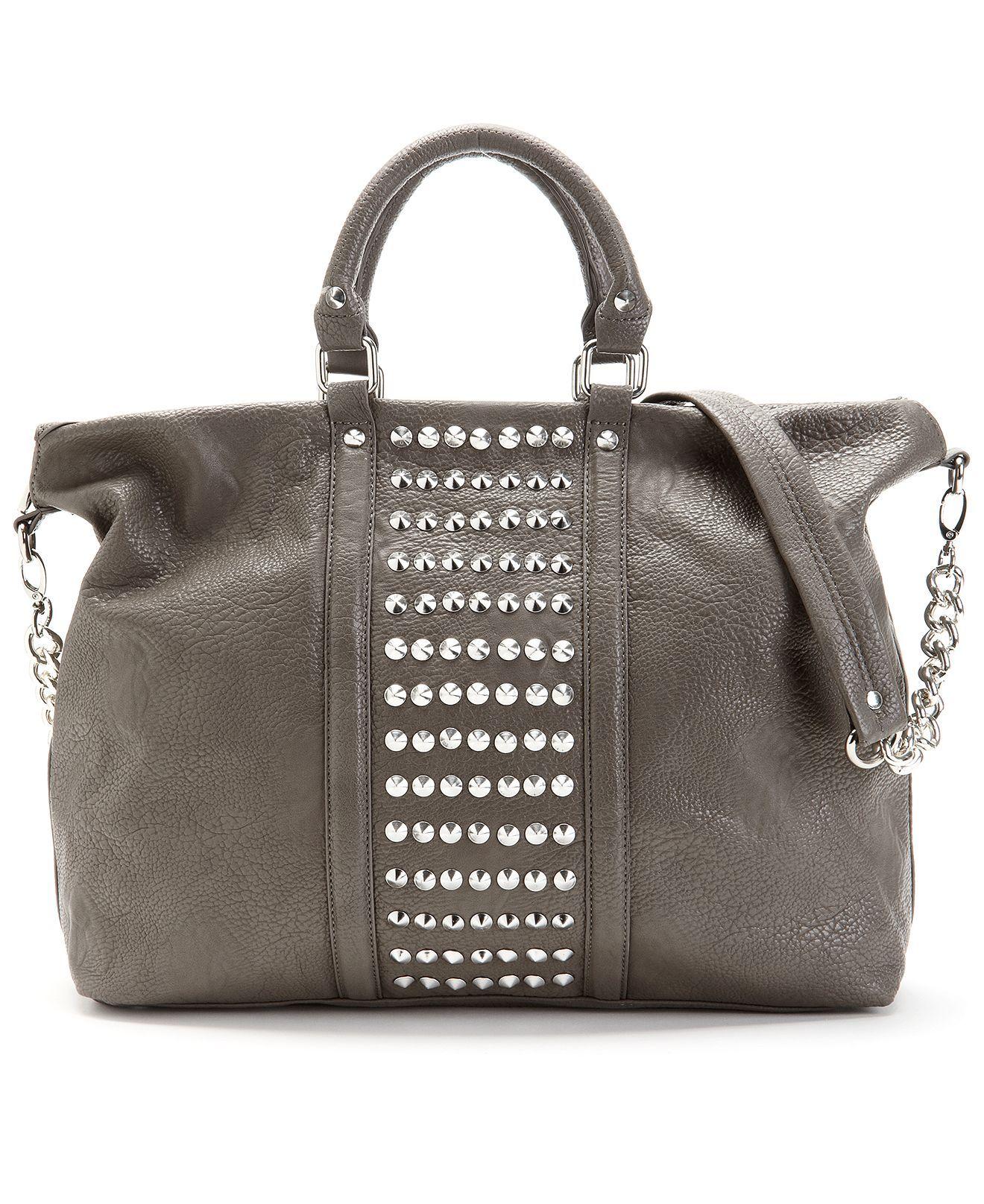 Grey Steve Madden Handbag Brocket Tote Macy S