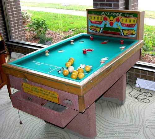 What are the rules of bumper pool?