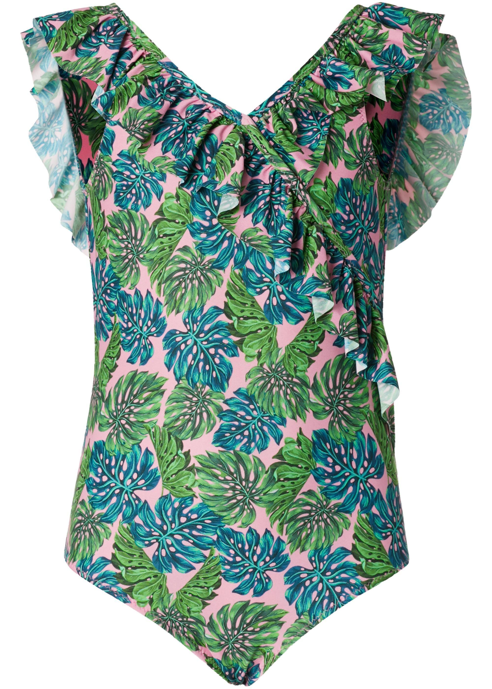 e43829ef1453 Bañador Entero Niña Follaje Tropical - Calzedonia   Mini fashion ...