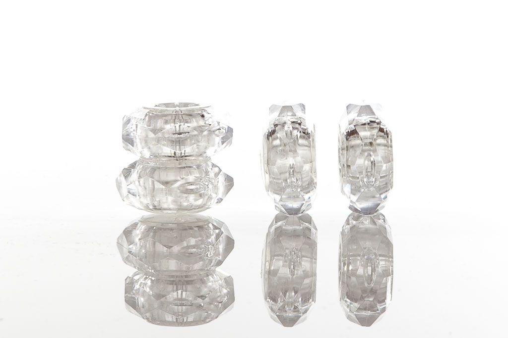 Protectores para Tacon Diamond Rings Crystal