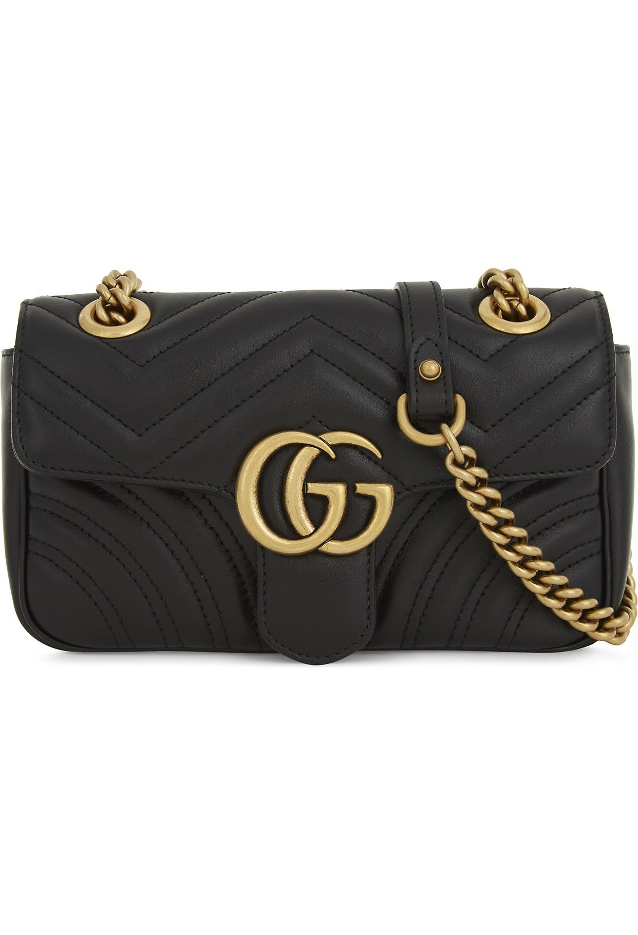 Lyst - Gucci Gg Marmont Mini Quilted Leather Cross Body