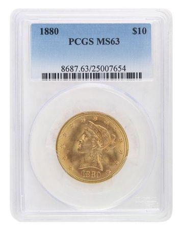 1880 Pcgs Ms63 Gold Eagle 1960 00 Gold Eagle Pcgs Eagle