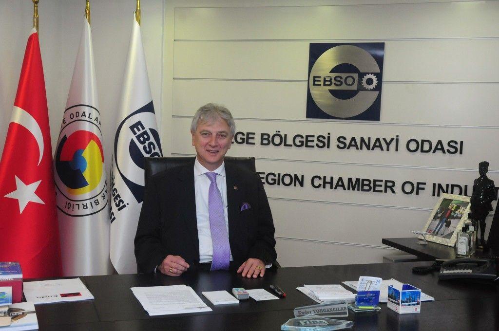 EBSO Başkanı Yorgancılar'dan çek yasası uyarısı - Çınar Haber Ajansı