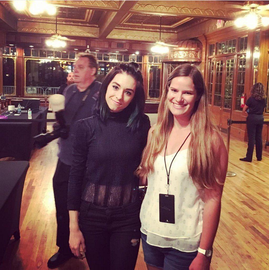 "Grimmie Updates on Twitter: ""Christina with a fan tonight in Orlando    #WildfireTour via https://t.co/lJCYyUASxK https://t.co/FYF6kdZqTn"""
