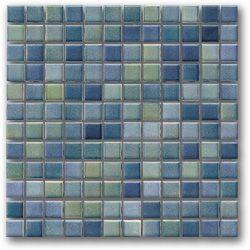 Color Line - Green/blue mix. Windowsills & mosaic details.