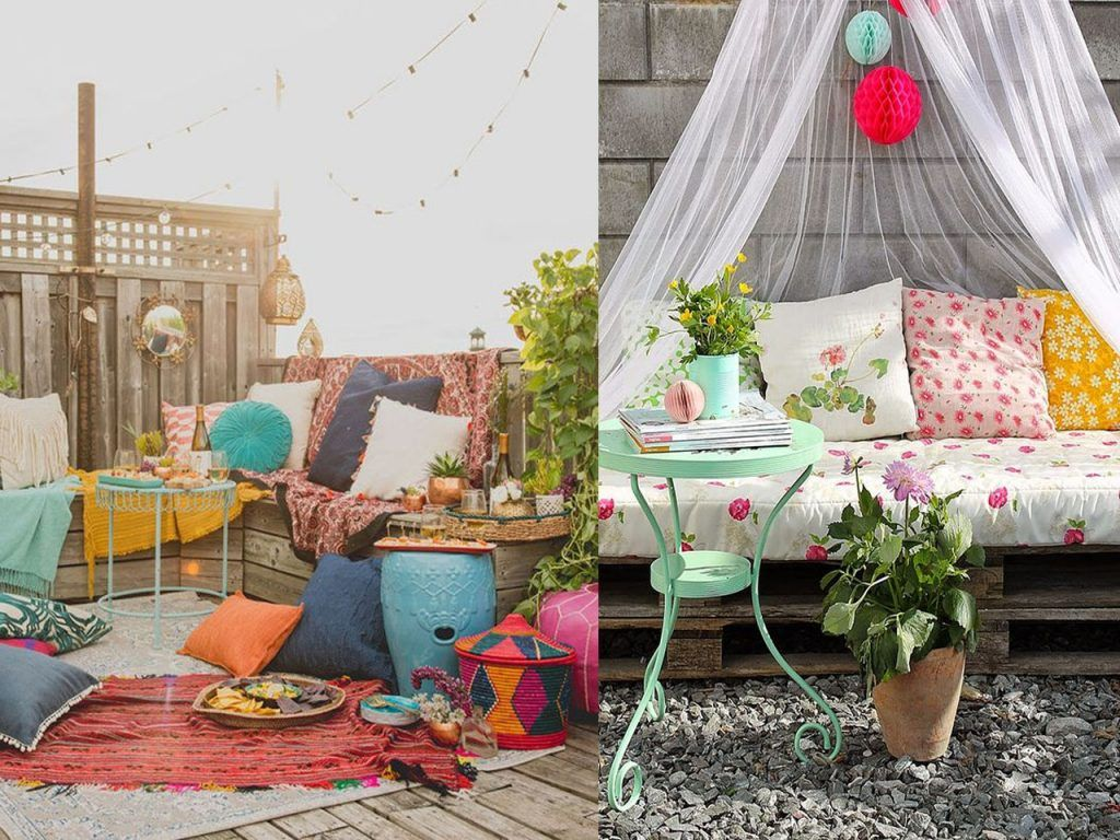 6 claves para la decoraci n de terrazas modernas boho chic for Estilo boho chic decoracion