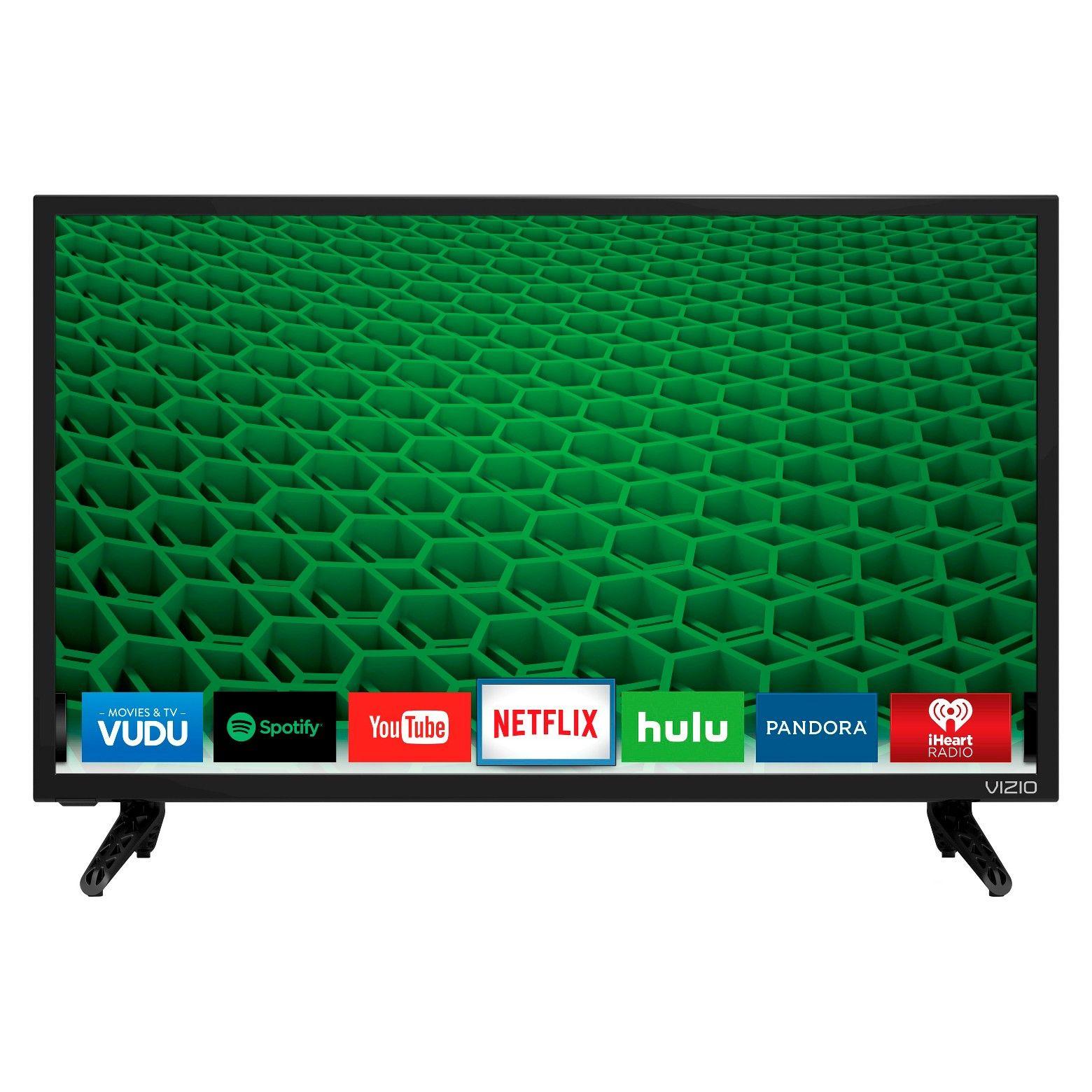 """VIZIO® D-Series 48"""" Class 47.6"""" Diag. 1080p 120Hz LED Smart TV"""